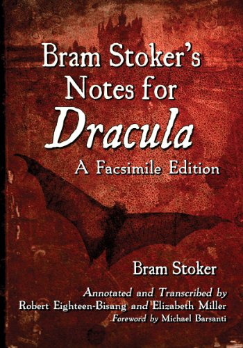 9780786477302: Bram Stoker's Notes for Dracula: A Facsimile Edition