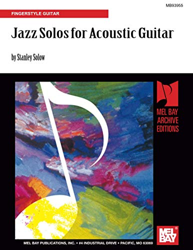 9780786600786: Jazz Solos for Acoustic Guitar: Fingerstyle Guitar