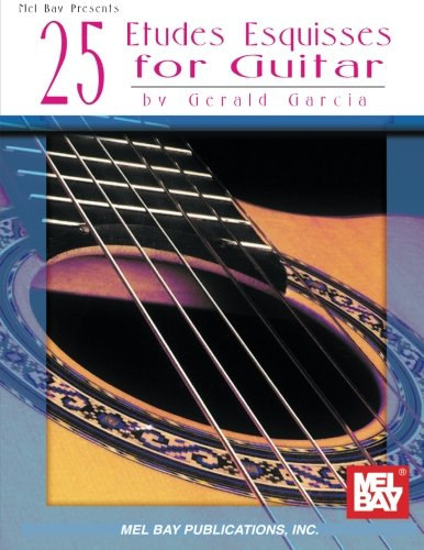 9780786604074: 25 Etudes Esquisses for Guitar