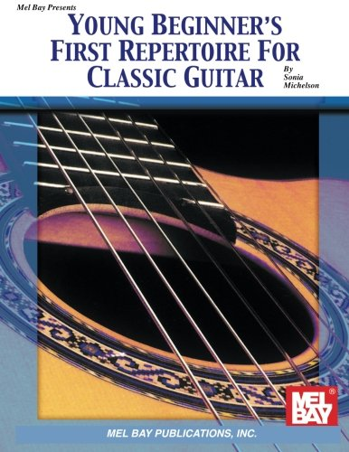 9780786604845: Young Beginner's First Repertoire for Classic Guitar