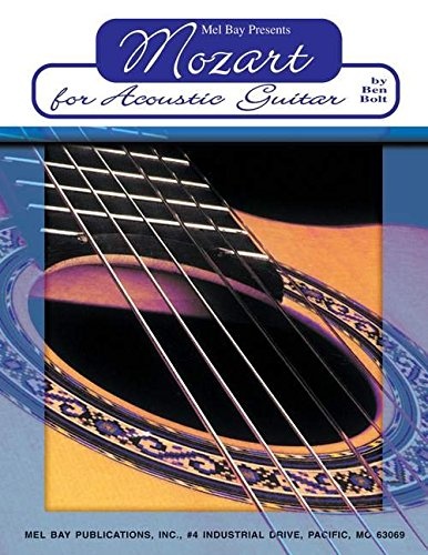 9780786605972: Mozart for Acoustic Guitar