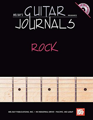 9780786607198: Mel Bay's Guitar Journals Rock