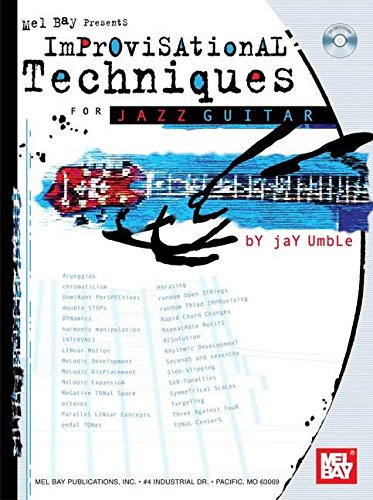 9780786607358: Mel Bay Improvisational Techniques for Jazz Guitar