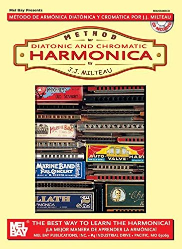 9780786607723: Mel Bay Method for Diatonic and Chromatic Harmonica
