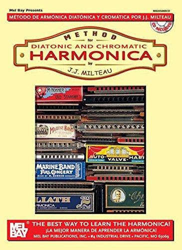 9780786607723: Method for Diatonic and Chromatic Harmonica / Metodo de Armonica Diatonica Y Cromatica: The Best Way to Learn the Harmonica! / La Jejor Manera De Aprender La Armonica!