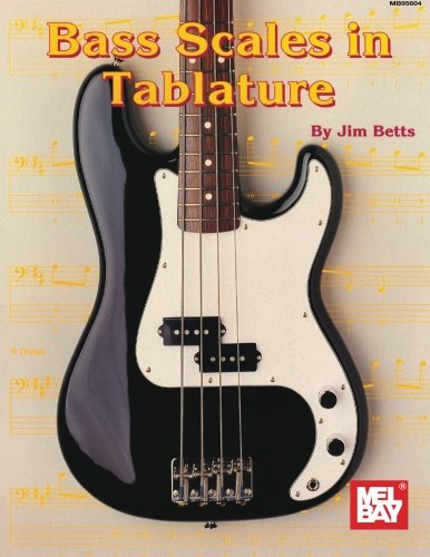 9780786607891: Mel Bay Bass Scales in Tablature