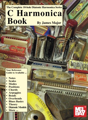 9780786613700: C Harmonica Book (The Complete 10-Hole Diatonic Harmonica Series)