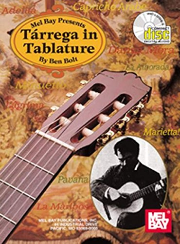 9780786616411: Tarrega in Tablature with CD (Acoustic Guitar Series) (Multilingual Edition)