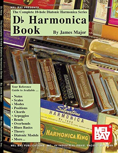 Mel Bay Complete 10-Hole Diatonic Harmonica Series: Db: Major, Jim