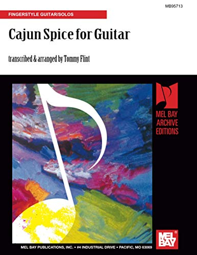 9780786616947: Cajun Spice for Guitar: Fingerstyle Guitar/Solos