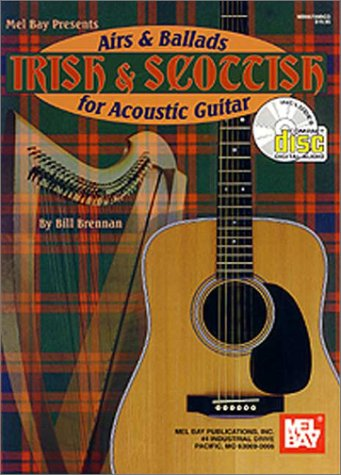 9780786617951: Irish & Scottish airs & ballads for acoustic guitar (1Cédérom)