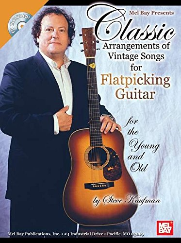 9780786618040: Classic Arrangements of Vintage Songs for Flatpicking Guitar: For the Young and Old
