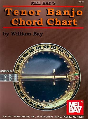 9780786618101: Mel Bay Tenor Banjo Chord Chart