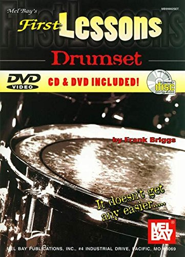 9780786620739: Mel Bay's First Lessons Drumset