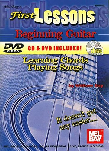 9780786625512: Mel Bay's First Lessons Beginning Guitar