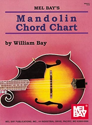 9780786625543: Mel Bay Mandolin Chord Chart