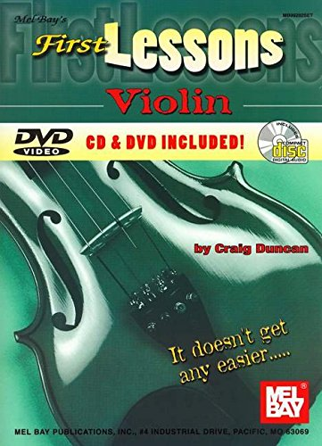 9780786625826: Mel Bay's First Lessons Violin