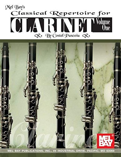 9780786626557: Classical Repertoire for Clarinet 1