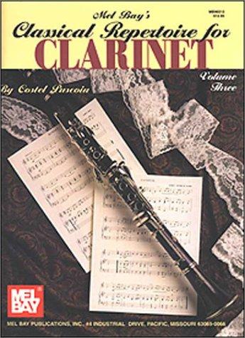 9780786626571: Classical Repertoire For Clarinet (Volume 3)