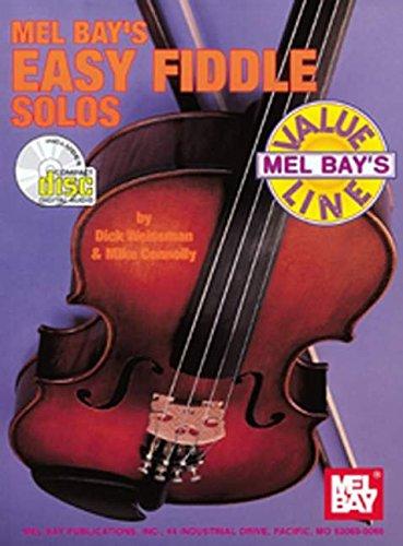 9780786626922: Mel Bay Easy Fiddle Solos