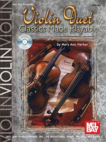 9780786628346: Mel Bay Violin Duet Classics Made Playable