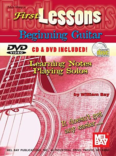 9780786628377: First Lessons Beginning Guitar : Learning Notes/Playing Solo