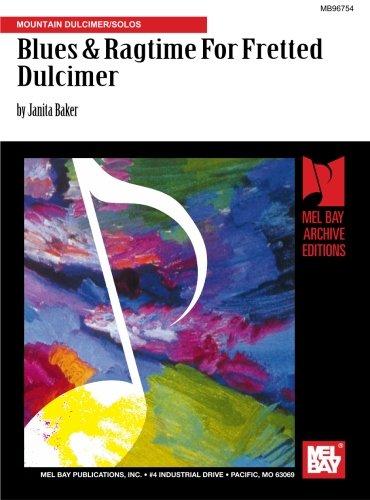 9780786630080: Blues & Ragtime For Fretted Dulcimer: Mountain Dulcimer/Solos