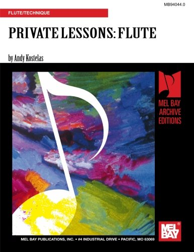 9780786632039: PRIVATE LESSONS FOR FLUTE