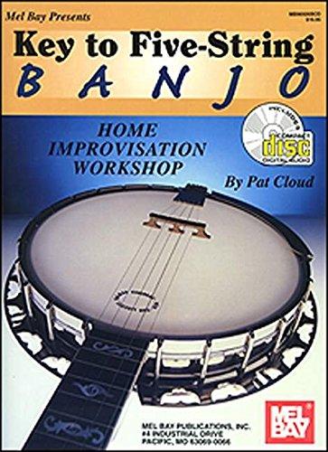 9780786632640: Key to Five-String Banjo - Home Improvisation Workshop.