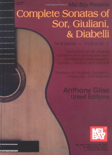 9780786633067: Complete Sonatas of Sor, Giuliani, and Diabelli Sonatas