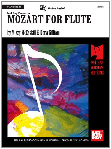 9780786633098: Mozart for Flute (Mel Bay Archive Editions)