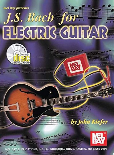 9780786634170: J S Bach for Electric Guitar
