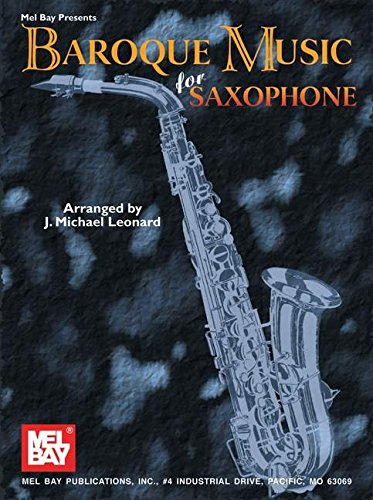 9780786634996: Baroque Music for Saxophone