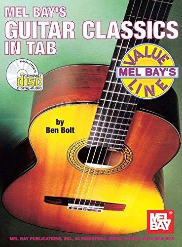 9780786635177: Mel Bay's Guitar Classics in Tab (Mel Bay's Value Line)