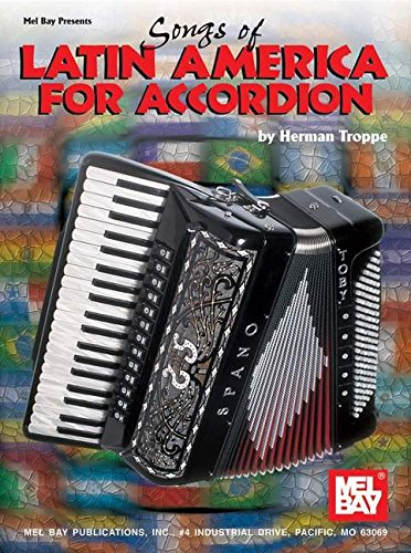 9780786635252: Songs Of Latin America For Accordion (Archive Edition)