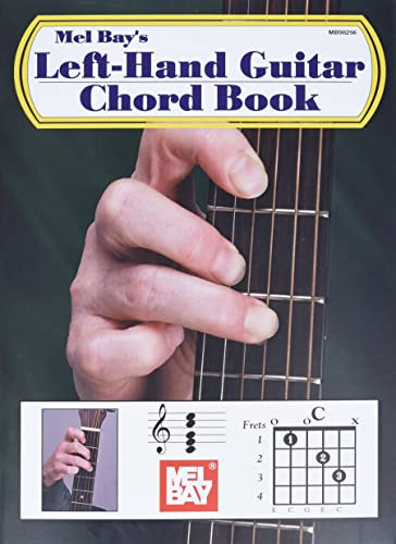Left Hand Guitar Chord Book By Mel Bay Mel Bay Music 9780786635740