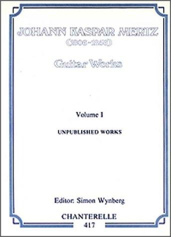 9780786636549: J. K. Mertz: Guitar Works Volume 1