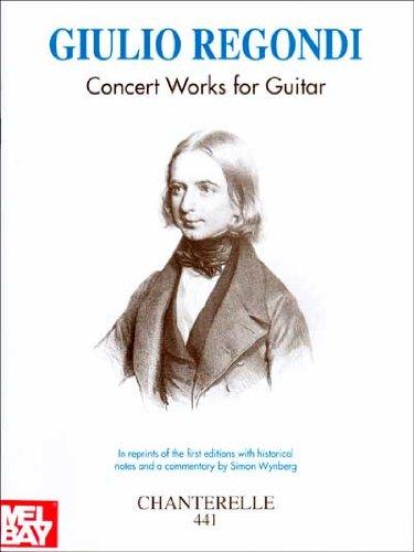 9780786636570: Giulio Regondi: Concert Works for Guitar (Chanterelle)