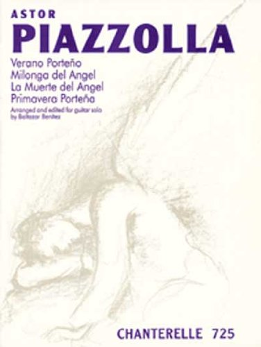 9780786636662: Astor Piazzolla: Verano Porteno and Three Other Pieces (Chanterelle) (Spanish Edition)
