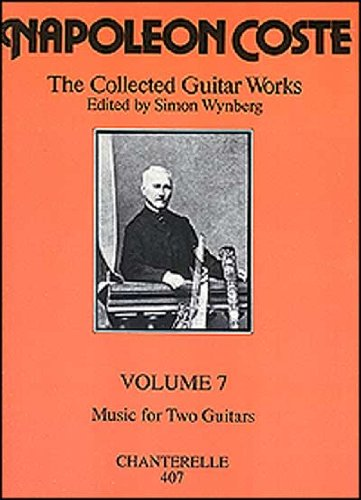 9780786636891: Napoleon Coste: Collected Guitar Works Volume 7 (French Edition)