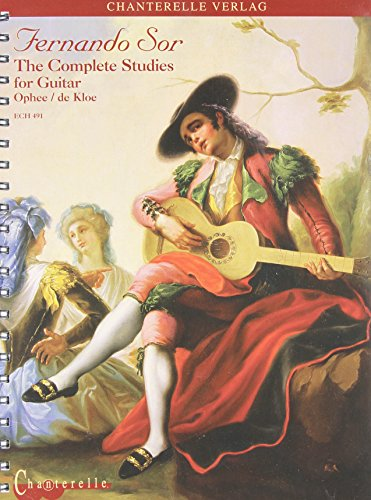 9780786637058: Fernando Sor: The Complete Studies for Guitar (Chanterelle)