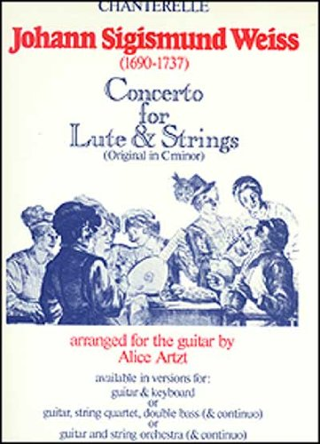 9780786637218: Concerto for Lute & Strings for Guitar & Keyboard