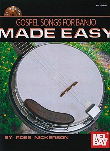 9780786638093: Gospel Songs for Banjo Made Easy Book/CD Set
