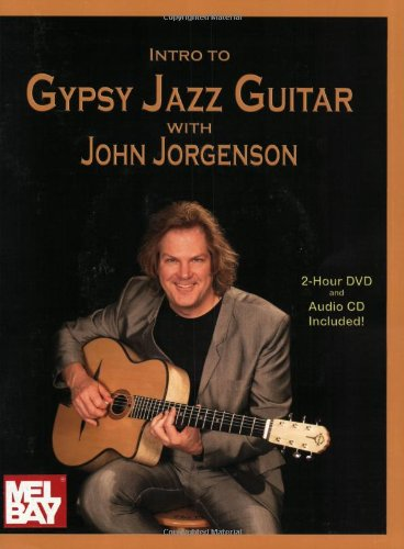 9780786639144: Introduction to Gypsy Jazz Guitar: John Jorgenson (Book/CD/DVD Set)