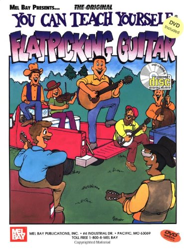 Mel Bay You Can Teach Yourself Flatpicking Guitar (You Can Teach Yourself): Steve Kaufman