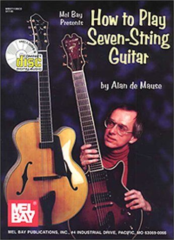 9780786641154: How to Play Seven-String Guitar [Includes CD]