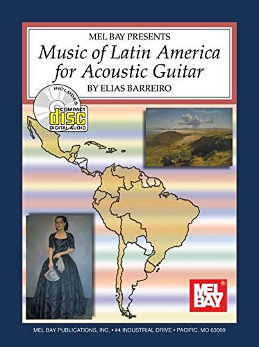 9780786641215: Music of Latin America: For Acoustic Guitar
