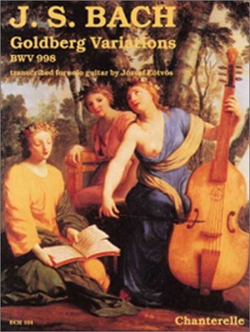 9780786643875: J. S. Bach: Goldberg Variations BWV 988 (Chanterelle)