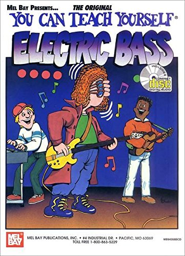 9780786644063: You Can Teach Yourself Electric Bass Guitare+CD