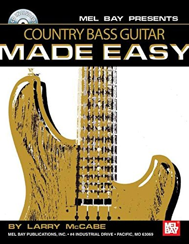 9780786644162: Country Bass Guitar Made Easy
